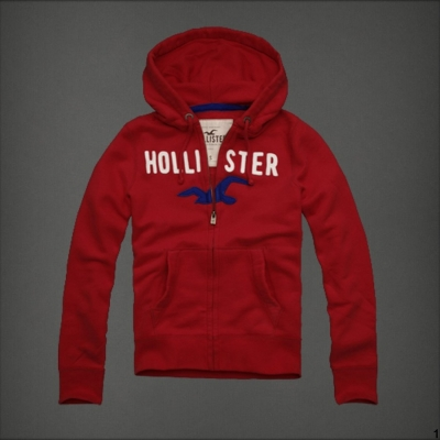 2013_Hollister_Men_Full_Zip_Hoodies_S16_Red_1